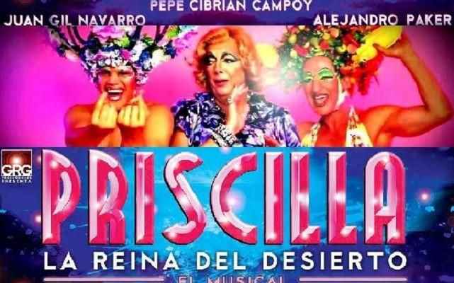 Priscilla la reina del desierto mirada h for Aida piscina reina del desierto