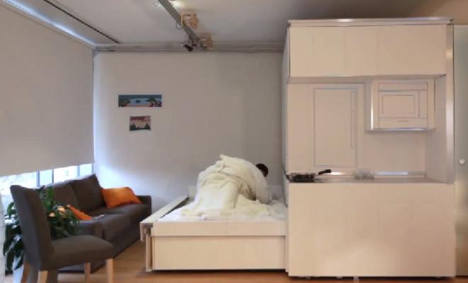 Cityhome un mueble inteligente ideal para monoambientes for Mueble cuadrados ikea